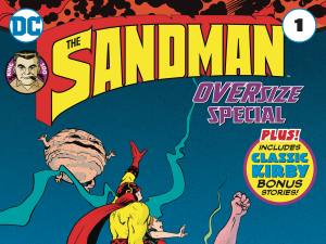 Sandman Oversize Special, cover art by Paul Pope.