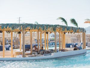 SantAnna beach resort just opened up in Mykonos. Scroll through to see inside the luxe spot.