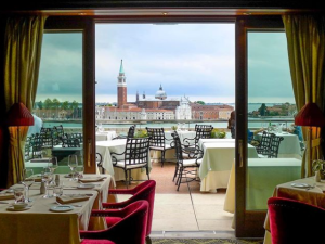 What's more Venetian than this epic view?