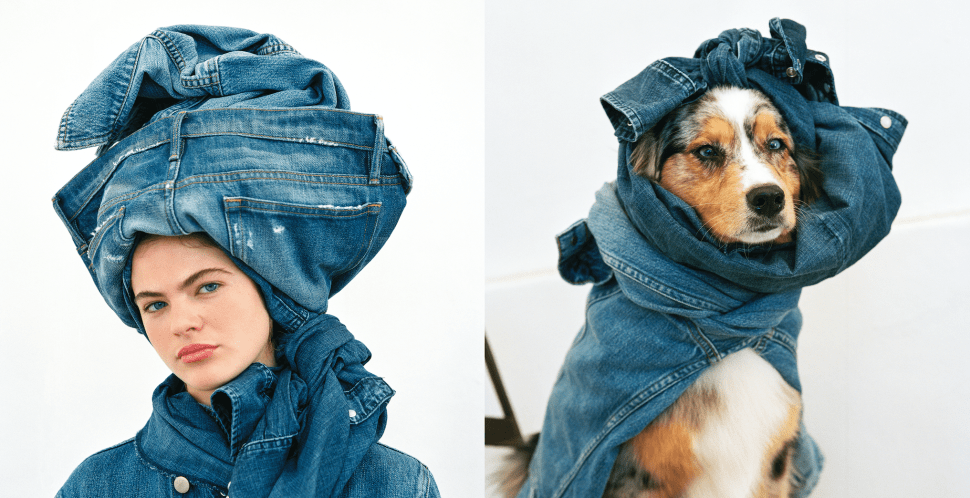 Bruce Weber Essentially Recreated Mario Testino's Towel Series—With Denim