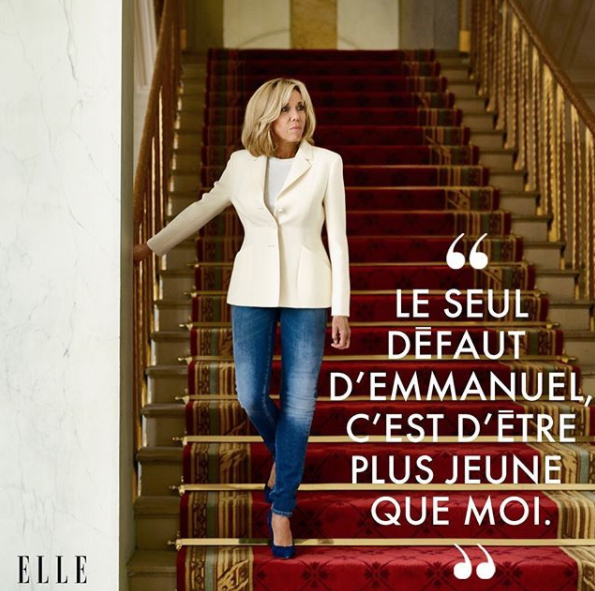 Brigitte Macron Opened Up About Her Husband's Only Fault