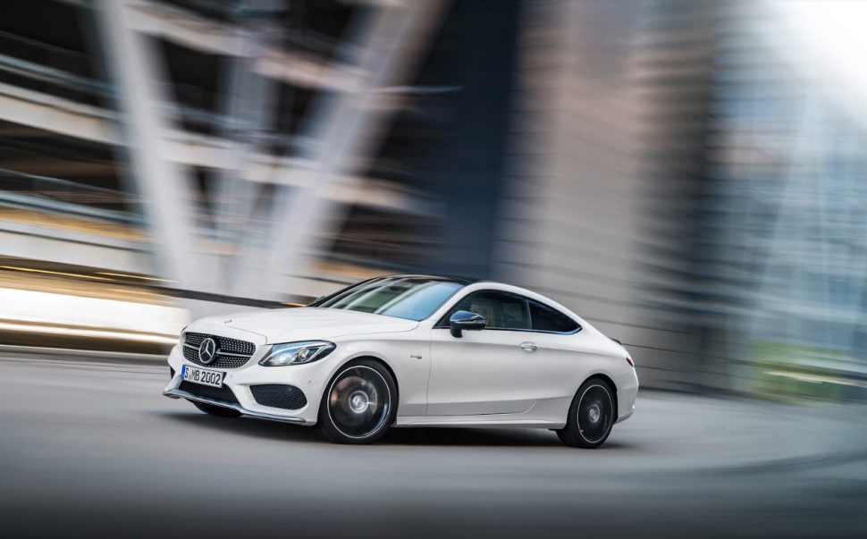 Ride the Self-Driving Wave in Mercedes' 2017 AMG C43 Coupe