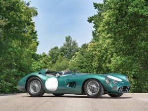 DBR1, chassis 1, the first iteration of the most important Aston Martin ever produced is headed for RM Sotheby's Monterey podium. Tim Scott Fluid Images (c) 2017.