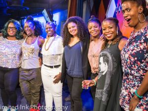"""The monthly """"Sisters of Comedy"""" show hosted a """"Night of Levity for Black Lives."""""""