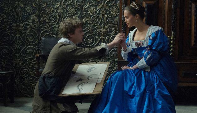 Dane DeHaan and Alicia Vikander star in Tulip Fever.