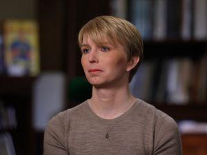 Chelsea Manning on ABC's Nightline.