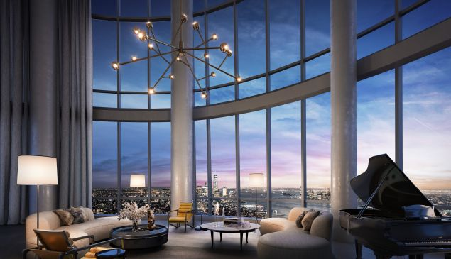 The most expensive penthouse yet is now for sale at 15 Hudson Yards. Scroll through to see inside the luxe duplex.