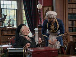 Judi Dench stars as Queen Victoria and Ali Fazal stars as Abdul Karim in director Stephen Frears' Victoria & Abdul.