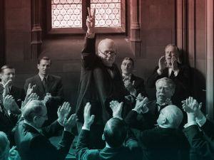 Gary Oldman stars as Winston Churchill in Darkest Hour.