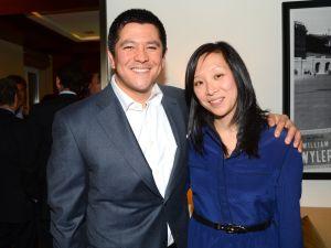 Carl Quintanilla and Judy Chung.