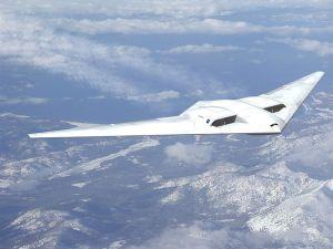 One of Northrop Grumman's military planes.