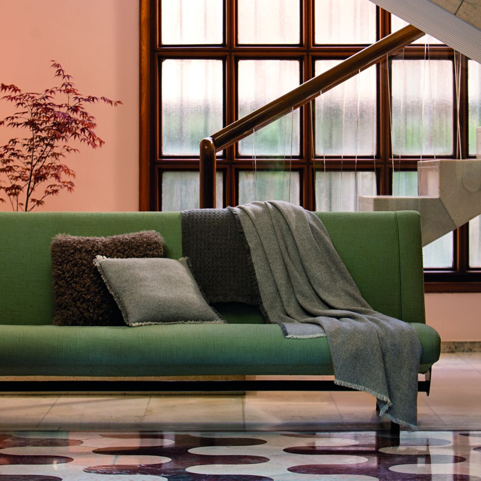 Accessorize Your Home the Italian Way, With Agnona's Cashmere Blankets