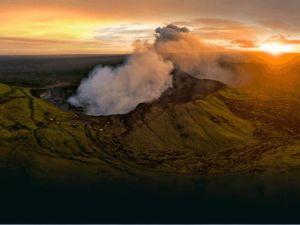 The Masaya volcano in Nicaragua.