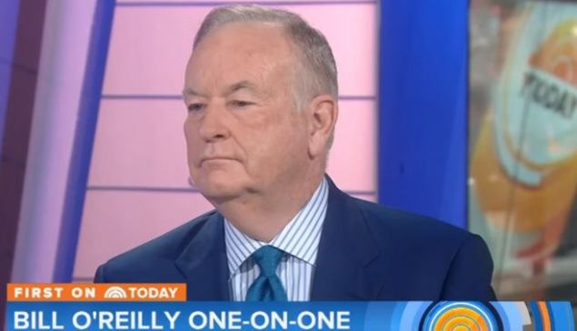 Bill O'Reilly on 'Today.'
