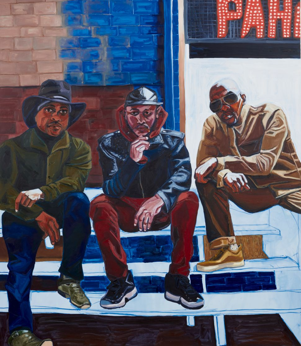 In New Portraits, Jordan Casteel Makes Eye Contact With the Men of Harlem