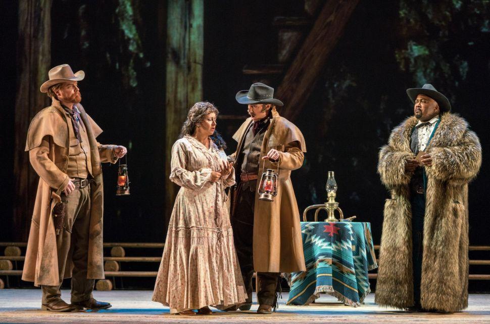 New York City Opera's New 'La Fanciulla del West' Is a Tearjerker