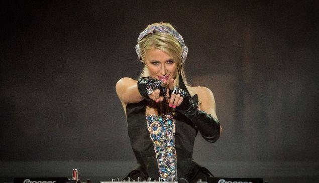 Paris Hilton EDM DJ