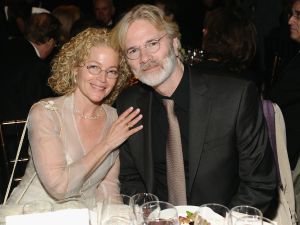Amy Irving and her husband, Kenneth Bowser.
