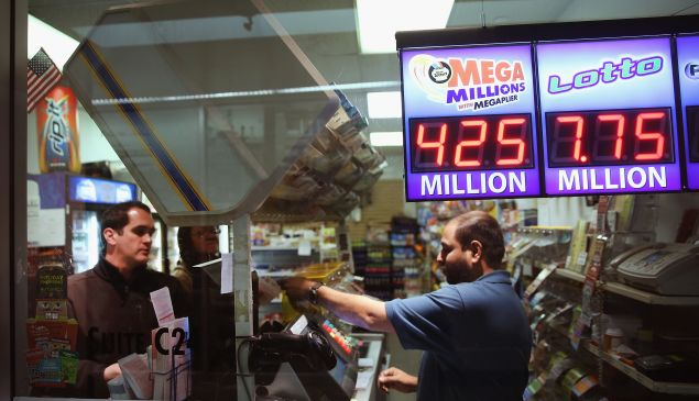 Would you get lottery tickets from a machine in your building's lobby? Didn't think so.