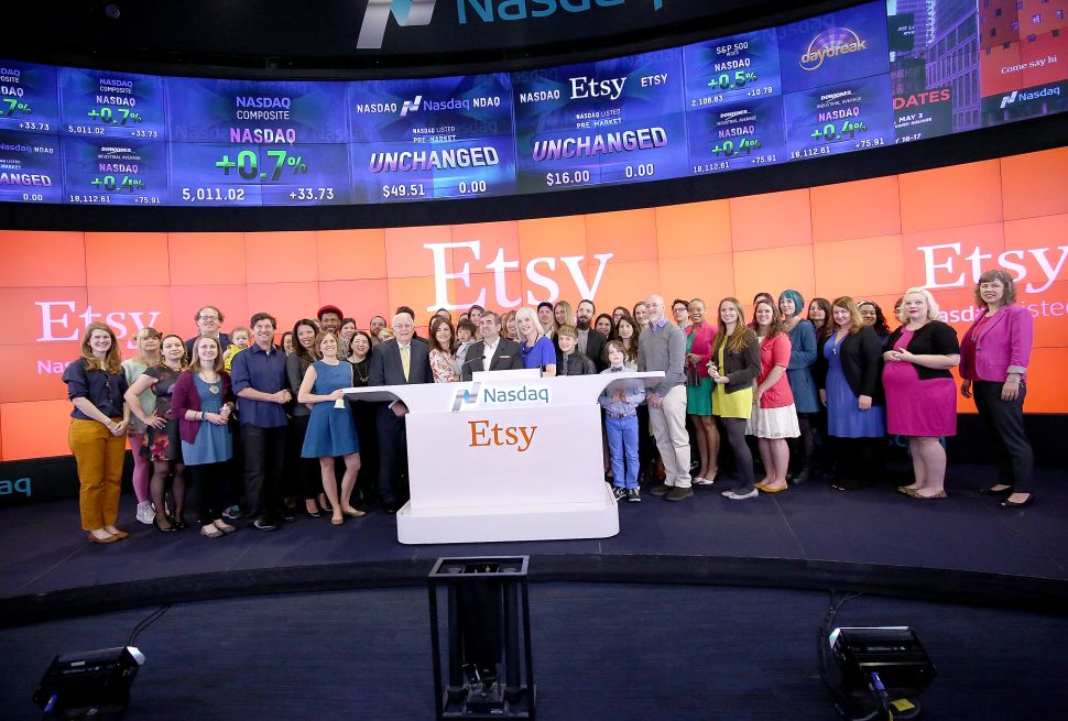 Social Good Organization Grants Etsy More Time to Change Its Corporate Status