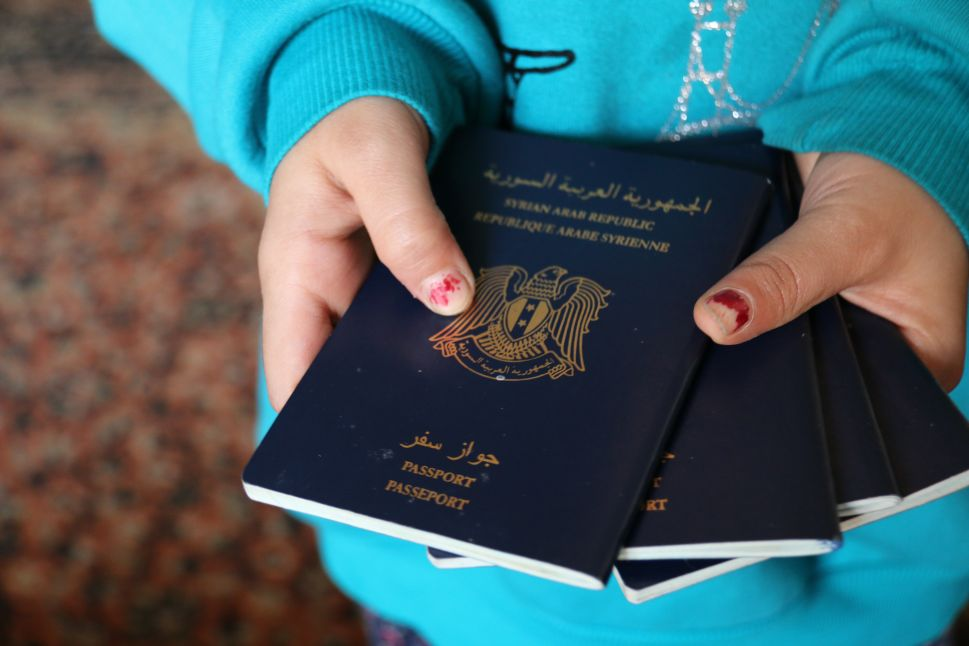 ISIS Has 11,000 Blank Syrian Passports