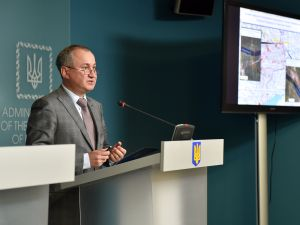 Vasyl Hrytsak, Head of the Security Service of Ukraine.
