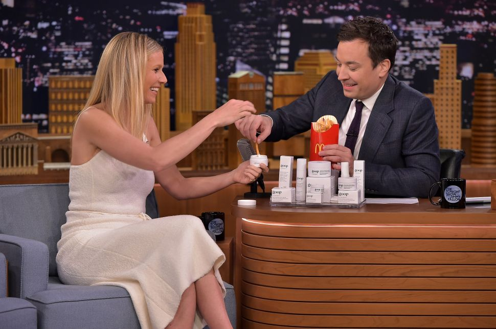 Gwyneth Paltrow Eats Exactly What You'd Imagine