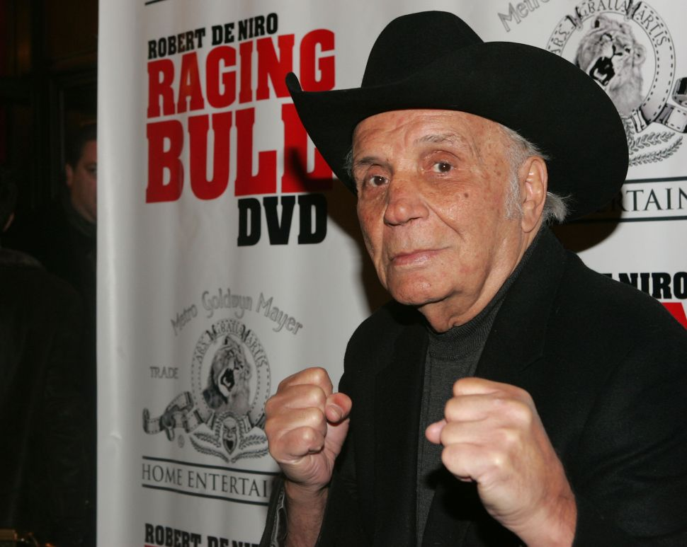Legendary Boxer and 'Raging Bull' Inspiration Jake LaMotta Has Passed Away