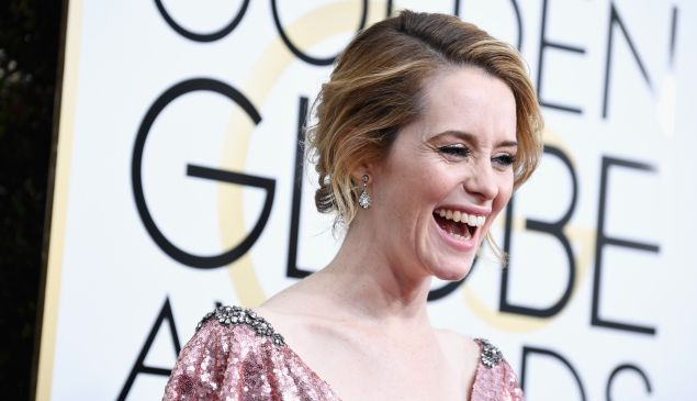Claire Foy won't be smiling nearly as much when she plays Lisbeth Salander.
