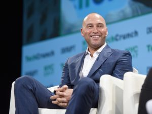 Derek Jeter at TechCrunch Disrupt NY in May.