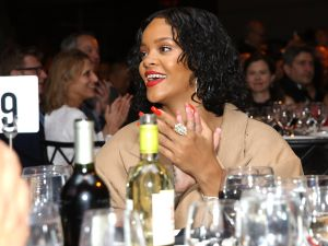 Rihanna + wine = match made in heaven.