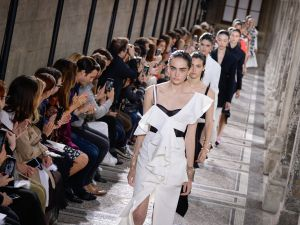 The first Proenza Schouler collection to debut in Paris.