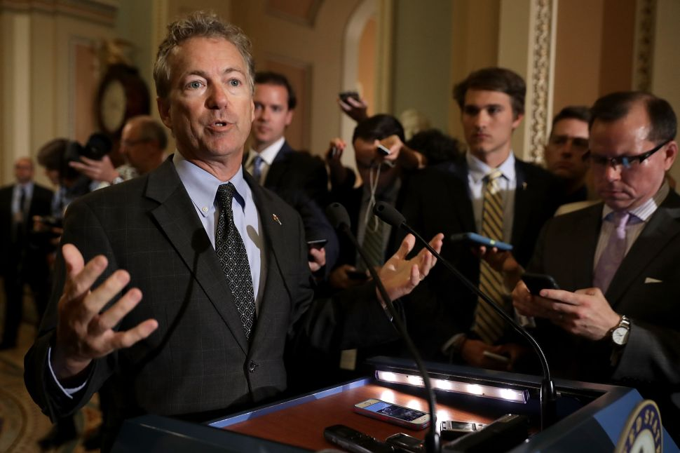 Rand Paul Fights to Force Senate Vote on Iraq and Afghanistan War Authorizations