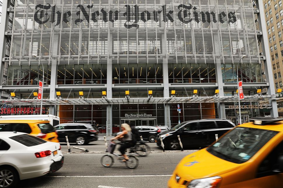 New York Times Sues Woman Who Posed as Reporter for Four Years