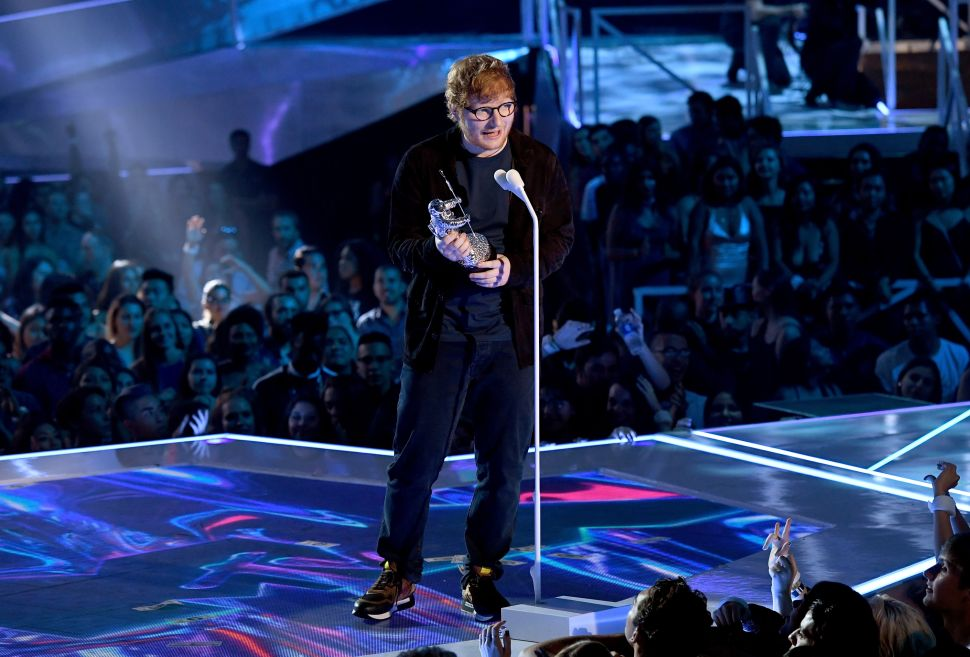 Ed Sheeran Has Spotify's Most-Streamed Song of All Time