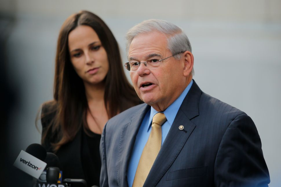 Bob Menendez 'Severely Admonished' by Senate Ethics Committee