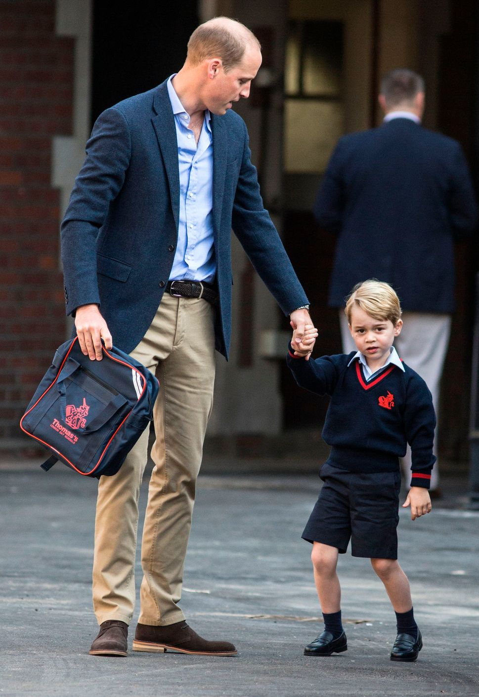 Prince Charles Thinks Prince George's School Will Be Character Building