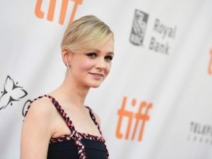 Carey Mulligan attends the Mudbound premiere during the 2017 Toronto International Film Festival.