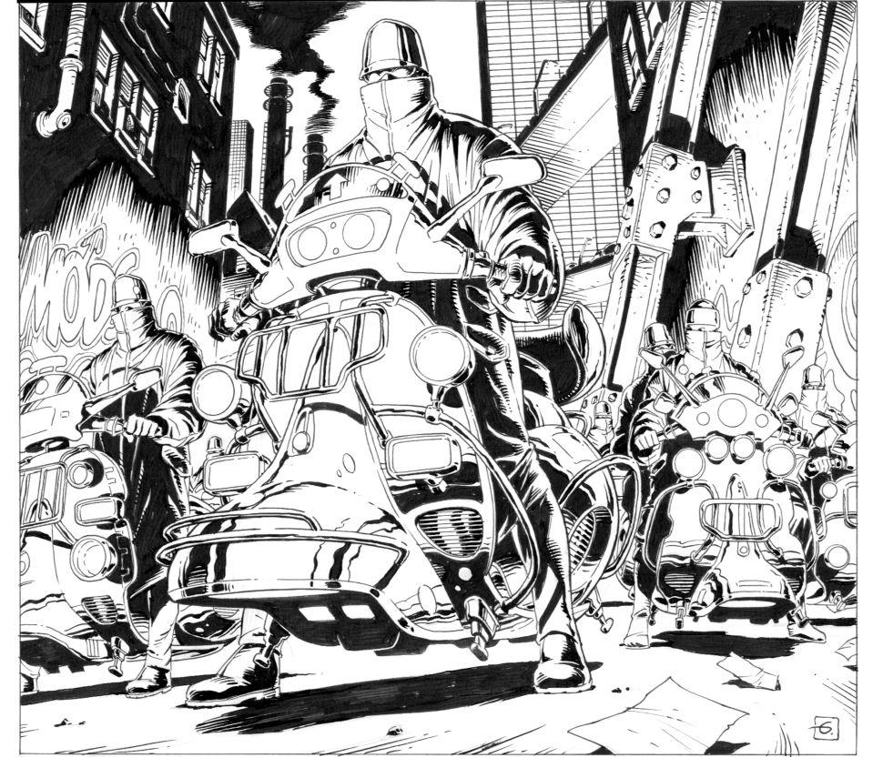 'Kingsman' Artist Dave Gibbons Explains ABCs of Making a Comic Book