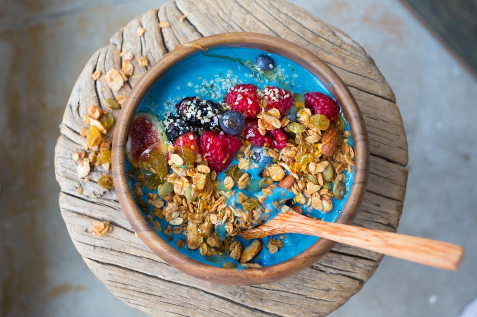 Great White's Blue Smoothie Bowl Is Peak LA