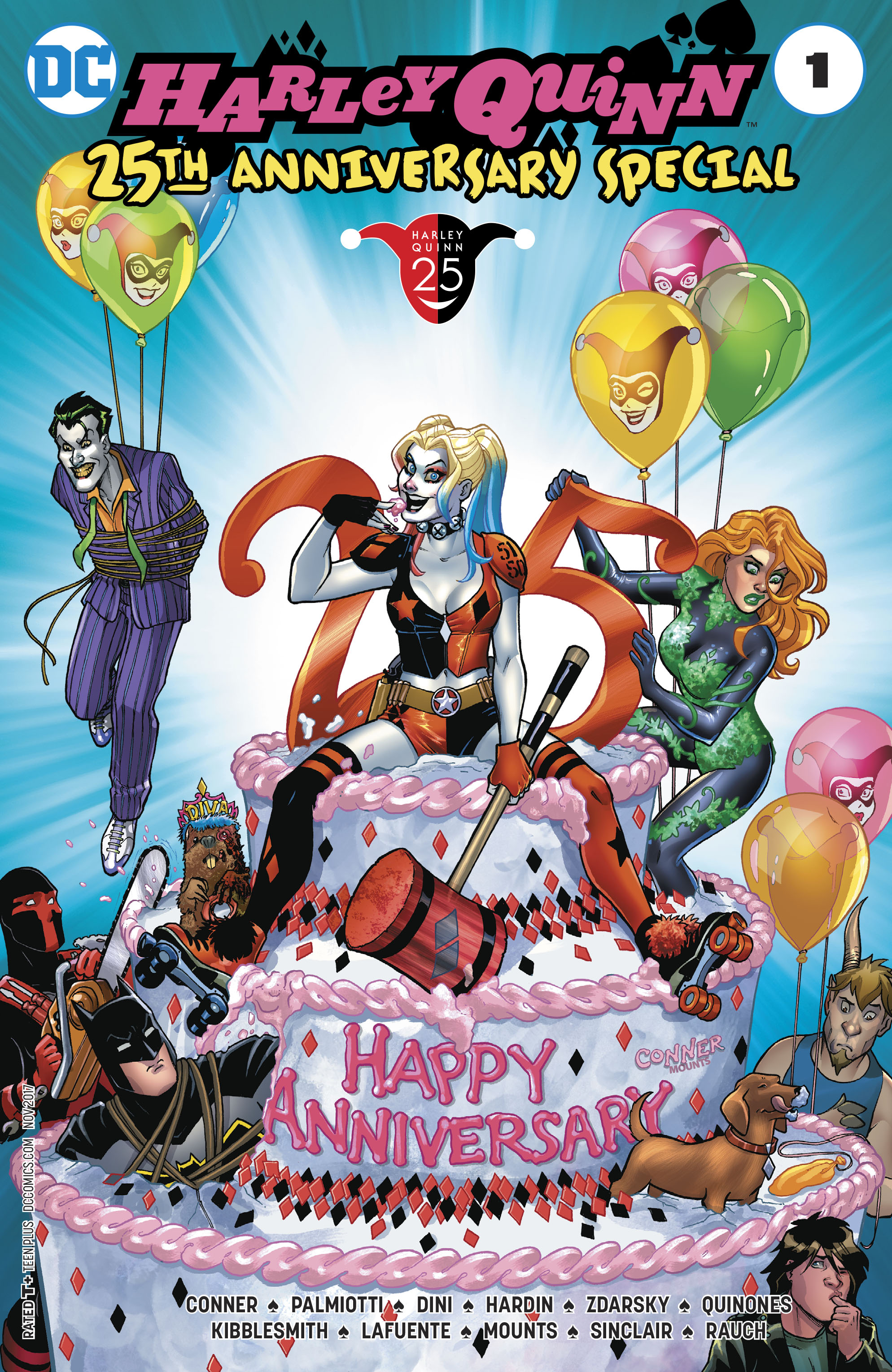 Dc Comics Celebrates 25 Years Of Clown Queen Harley Quinn Observer