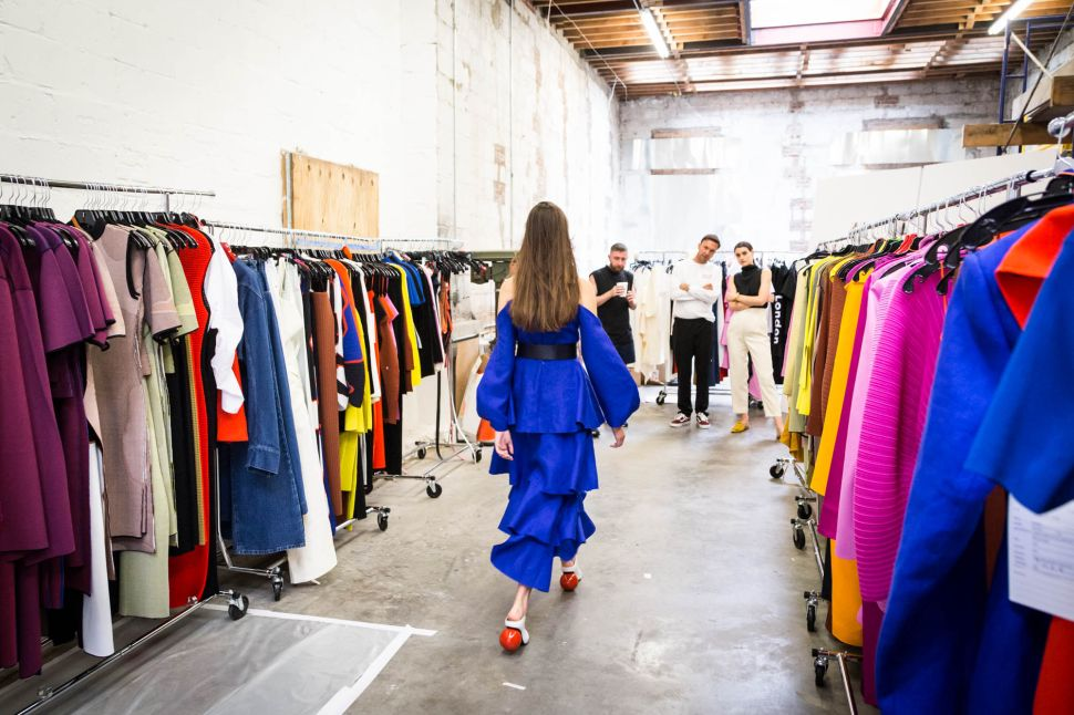Inside the Studio of Solace London, Before Their NYFW Debut