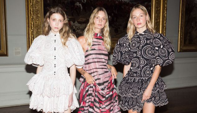 A trio of Australian looks, from Aje.