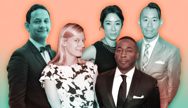 The up-and-coming art world power players of 2017.