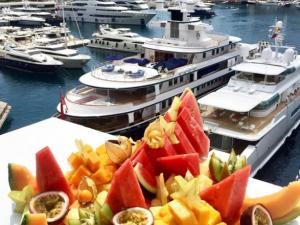 Monaco Yacht Show.