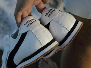 These exclusive sneakers come from Tomas Maier and Puma.