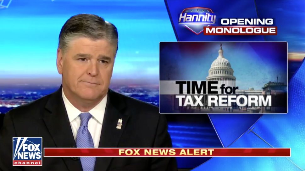 Sean Hannity Sticks to Stale Script, Ignores Major Prime Time News