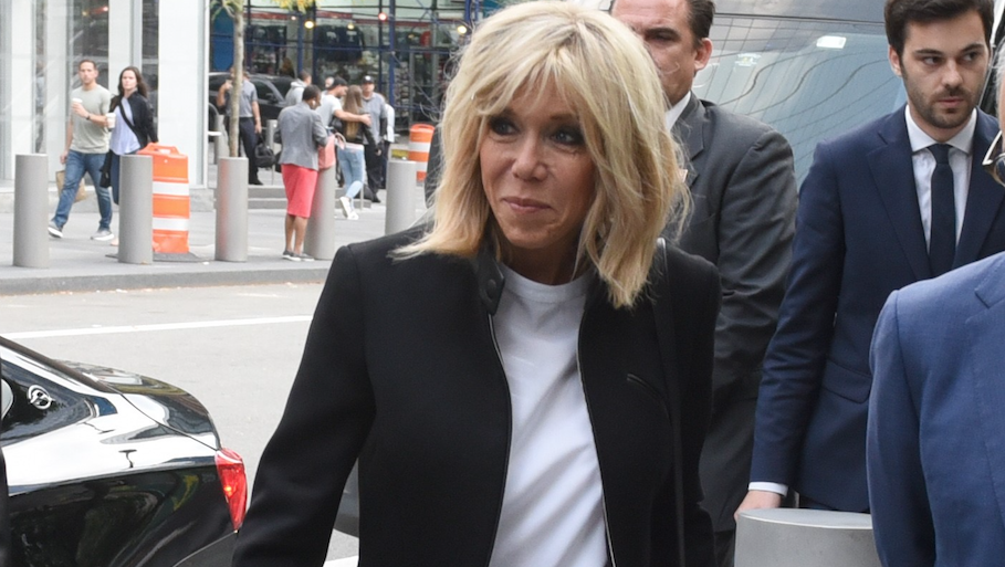 Brigitte Macron Has Perfected Her New York Wardrobe