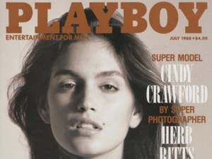 """Remembering an American icon and a true pop culture trailblazer,"" Cindy Crawford wrote on Instagram alongside a snap from her 1988 cover."