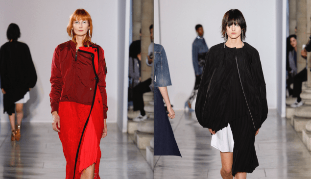 Looks from Lutz Huelle Spring 2018 ready-to-wear.